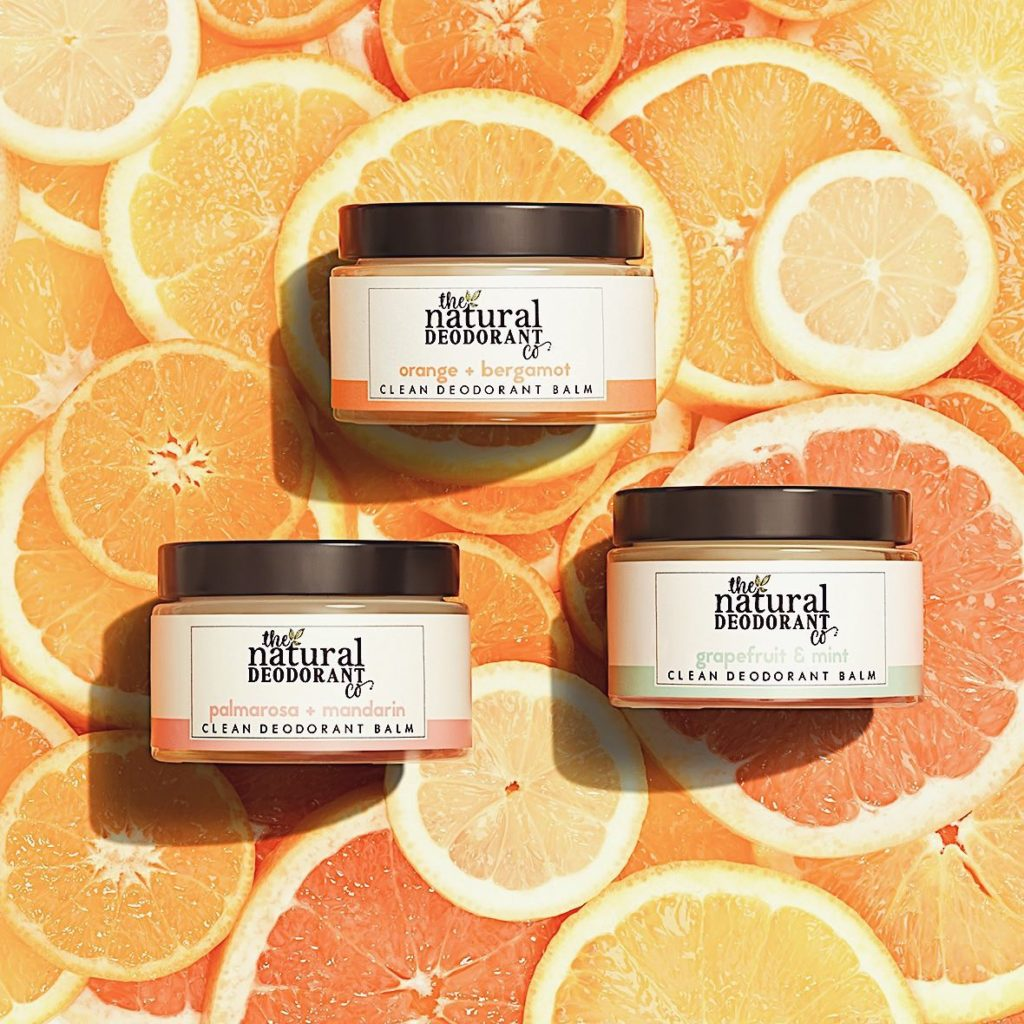 We fragrance our natural deodorants using only 100% plant, fruit and flower extracts.
